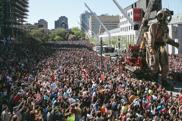 Plus de 1 million de personnes ont assisté aux événements de la programmation officielle