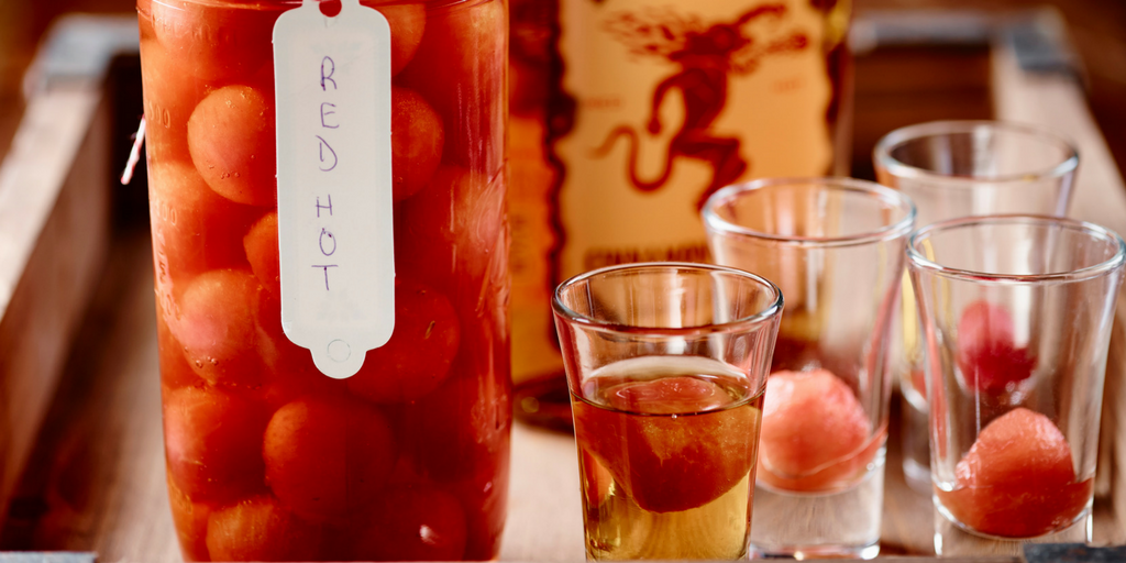 Recette : Boules piquantes de melon d'eau