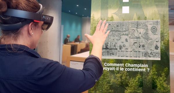 Voyager dans le passé grâce à la réalité augmentée : une expérience à vivre gratuitement à la Grande Bibliothèque