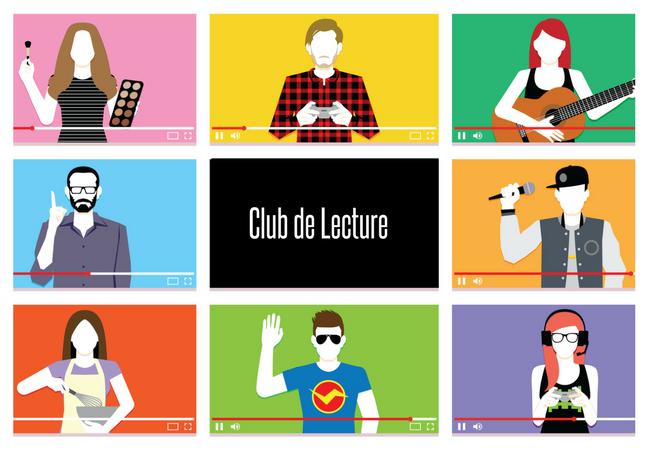 Club de Lecture : Livres des Youtubers