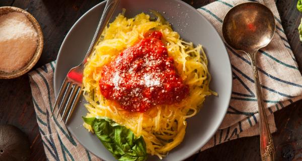 Recette : Courge spaghetti