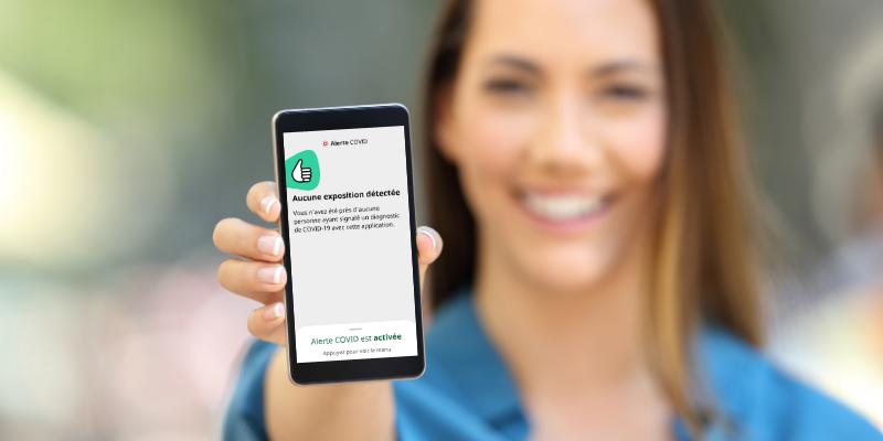 Cinq choses importantes à savoir à propos de l'application Alerte COVID