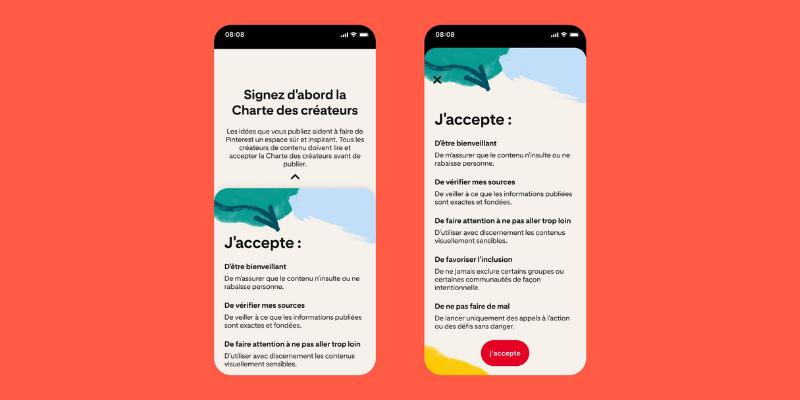 Pinterest lance la Charte des Créateurs et de nouveaux outils de modération des commentaires